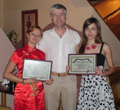 Выпуск стажеров PR агентства в Беларуси в 2010 году